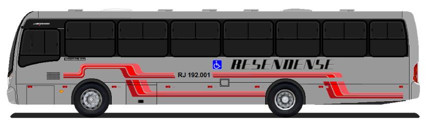 ônibus da viação resendense resende e visconde de mauá