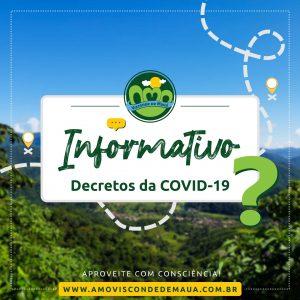 Tudo sobre os decretos da COVID-19 em Visconde de Mauá